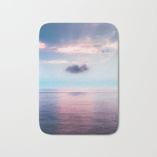 Pastel sea Bath Mat