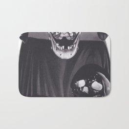 Skull Alter Bath Mat