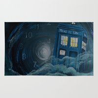 doctor who Area & Throw Rugs featuring doctor who by Annelies202