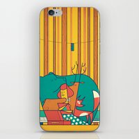 music iPhone & iPod Skins featuring MUSIC by Ale Giorgini