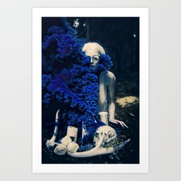 Vampire Flower (Edit 4) Art Print