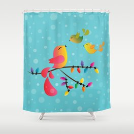 Welcome Home, My Babies! Shower Curtain