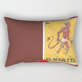 El Diablito  Rectangular Pillow