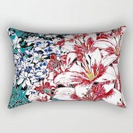 Asiatic Lilies Rectangular Pillow