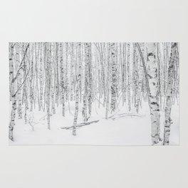 Swedish Birch Trees Rug