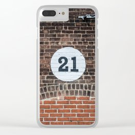 21 Clear iPhone Case