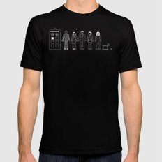 A Family of 10 Mens Fitted Tee MEDIUM Black