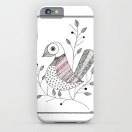 Madhubani Bird iPhone Case