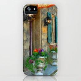 A Victorian Tea Room iPhone Case