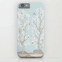 Citrus Grove Mural in Mist iPhone Case