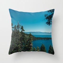 Lake Tahoe III Throw Pillow