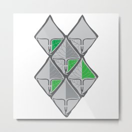 Look like a Green Life Metal Print