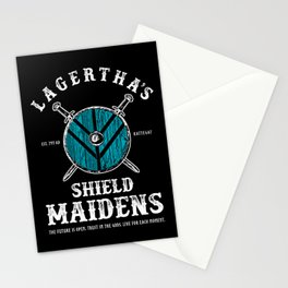 Lagertha's Sheild Maidens Stationery Cards