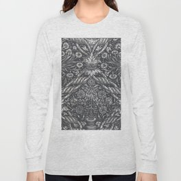 Leaf wallpaper with flower vase - Anonymous (1520 - 1560) Long Sleeve T-shirt