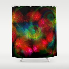 Butterfly Huddle Shower Curtain