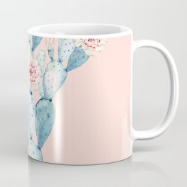 Rose Desert Cactus on Pink by Nature Magick Coffee Mug
