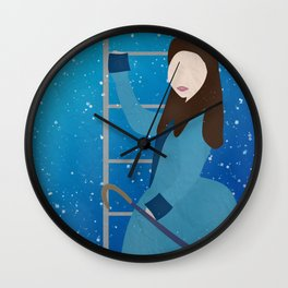 Souffle Girl, Clara Oswin Oswald - Doctor Who Wall Clock