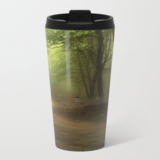 Mystical Forest (3) Metal Travel Mug