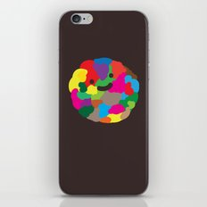 happy colour ball iPhone & iPod Skin