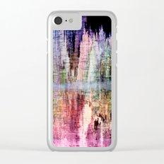Born in a Wonderful World Clear iPhone Case