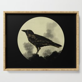 Crow Serving Tray