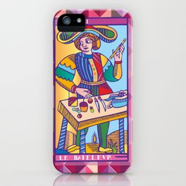 Le Bateleur (The Magician) iPhone Case