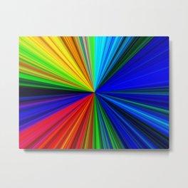 Spectrum - Fractal Art Metal Print