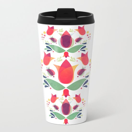 Gardens of V Metal Travel Mug