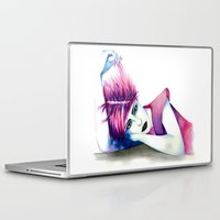 bubblegum Laptop & iPad Skins featuring Bubblegum by Alessandra Castagnolo