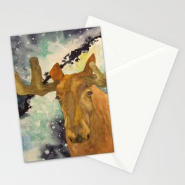 Full Moose Stationery Cards