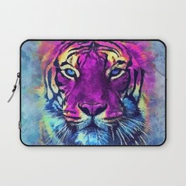 tiger purple spirit #tiger Laptop Sleeve