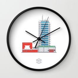 CCS_HotelHumboldt Wall Clock