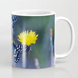 The Checkerspot Couple Coffee Mug