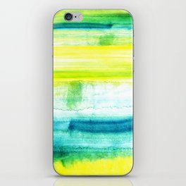 Swimming Upstream iPhone Skin