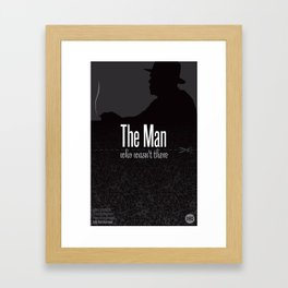 Film Friday No. 9, The Man Who Wasn't There Framed Art Print