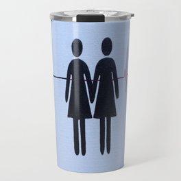 Love Who You Love - Hers Travel Mug