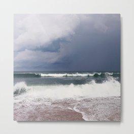 Nags Head Storm Metal Print