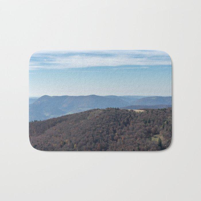 French mountain view Bath Mat