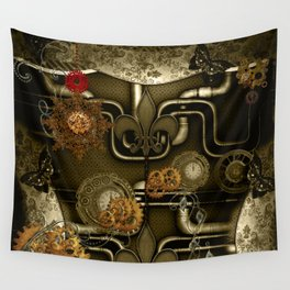 Wonderful noble steampunk design Wall Tapestry