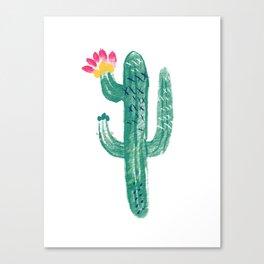 Cactus Cutie Canvas Print