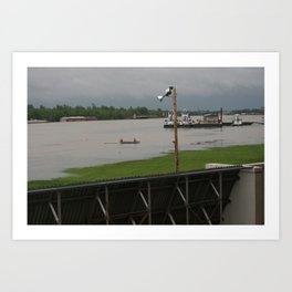 April 2011 Flooding in Ky Art Print