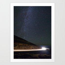 Night Traveler Art Print