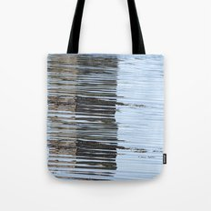 Reflections of a river, meanderings of a mind Tote Bag