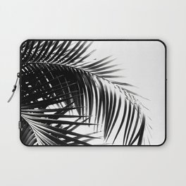 Palm Leaves Black & White Vibes #3 #tropical #decor #art #society6 Laptop Sleeve