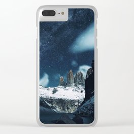 Torres del Paine National Park, Patagonia, Chile Clear iPhone Case