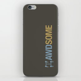 AWDSOME v7 HQvector iPhone Skin