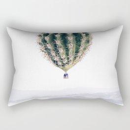 Flying Cactus Rectangular Pillow