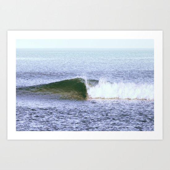 Lone Wave Art Print