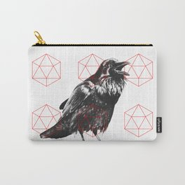 Sacred Raven Carry-All Pouch