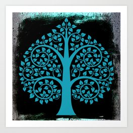 Bodhi Tree0107 Art Print